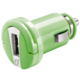 CellularLine mini autonabíječka s USB, 1A, zelená