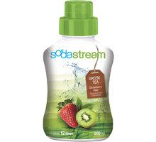 SodaStream Sirup Green IceTea Kiwi - Jahoda, 500ml