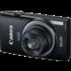 Canon IXUS 265 HS, černá  + Paměťová karta SDHC 8GB Kingston (class 4) v ceně 129 Kč