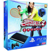 PlayStation 3 Slim - 12GB + Sport Champ 2. + 2x Move + kamera