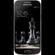 Samsung Galaxy S4 mini, černá, imitace kůže