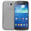 CELLY Gelskin pouzdro pro Samsung Galaxy S4 Active, čirá