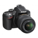 Nikon D3200 kit AF-S DX, černá