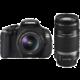 Canon EOS 600D + objektvy EF-S 18-55 IS II a EF-S 55-250 IS