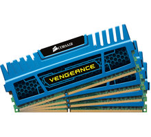 Corsair Vengeance Blue 16GB (4x4GB) DDR3 1600