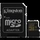 Kingston Micro SDHC 32GB class 10 UHS-I + adaptér