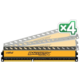 CRUCIAL Ballistix Tactical 16GB (4x4GB) DDR3 1600 LP