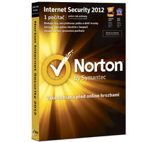 Symantec Norton Internet Security 2012 CZ El. licence, 3 users, 12 měs.