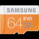 Samsung Micro SDXC EVO 64GB Class 10 UHS-I + adaptér