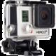 GoPro HD HERO 3+ Silver Edition  + Sluchátka SONY MDR-AS400, bílá v ceně 600kč
