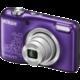 Nikon Coolpix L29, fialová lineart  + Paměťová karta SDHC 8GB Lexar v ceně 169 Kč
