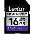 Paměťová karta SDHC 16GB Lexar v ceně 300 Kč