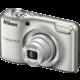 Nikon Coolpix L29, stříbrná  + Paměťová karta SDHC 8GB Lexar v ceně 169 Kč