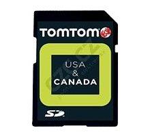 TOMTOM mapy USA a Kanady v8.70, IQ Routes MicroSD