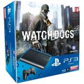 PlayStation 3 - 500GB + Watch Dogs