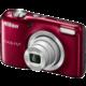 Nikon Coolpix L29, červená  + Paměťová karta SDHC 8GB Lexar v ceně 169 Kč
