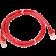 UTP kabel rovný kat.6 (PC-HUB) - 1m, červená