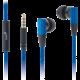 Genius headset - HS-M230, modrá