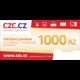 Poukázka CZC v ceně 1000 Kč - 2v1