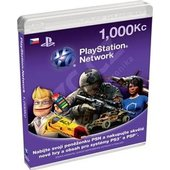 Playstation Network Card - 1000 Kč