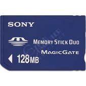 Sony Memory Stick Duo New MSHM128X 128MB